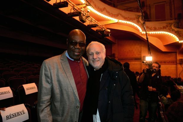 Manu Dibango et Yves Bigot.