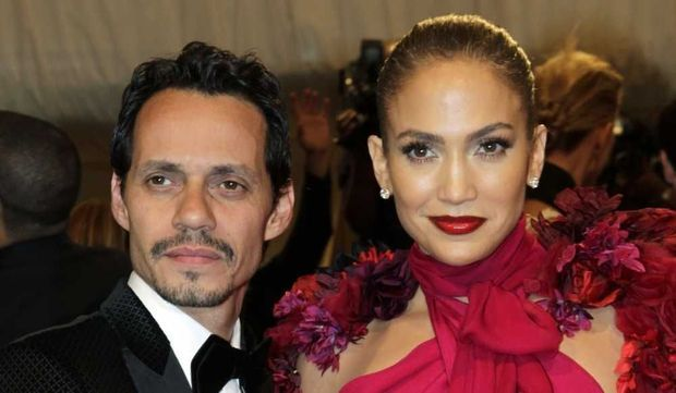 Marc Anthony et Jennifer Lopez-