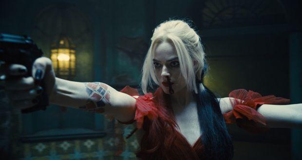 "Margot Robbie en Harley Quinn dans ""The Suicide Squad"""