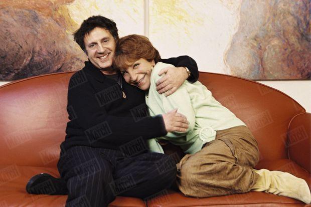 Maria Pacôme avec Daniel Auteuil en 2003.