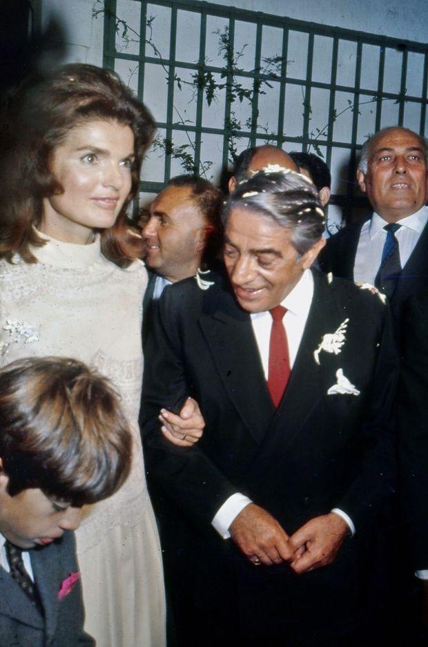 Jackie Kennedy et Aristote Onassis.