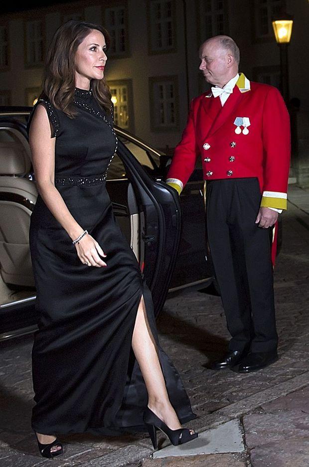 La princesse Marie de Danemark à Fredensborg, le 26 septembre 2017