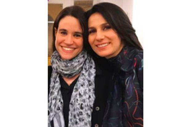 Charlotte Leloup et Marie Drucker
