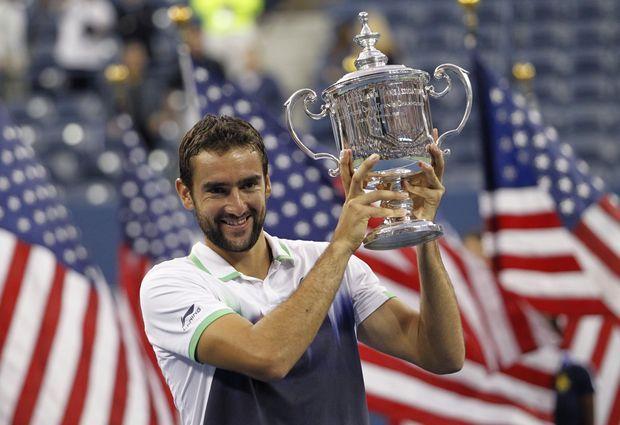 Marin Cilic a remporté lundi l'US Open.
