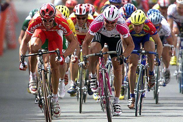 7 juillet 1999 Mario Cipollini remporte l'étape entre Laval et Blois