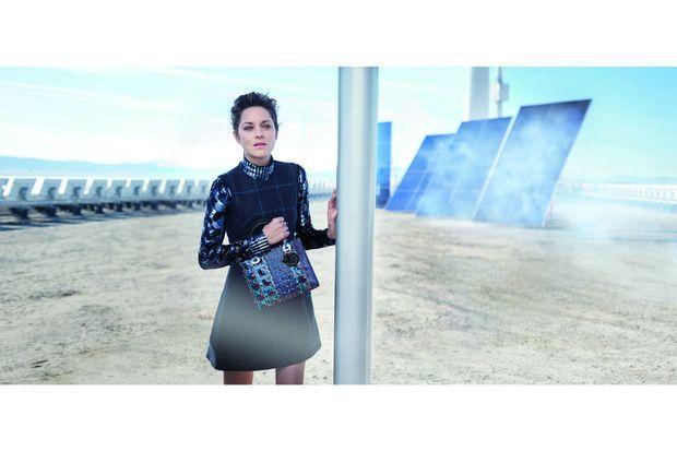 Marion Cotillard dans la dernière campagne Dior.