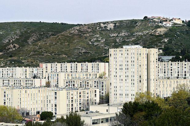 La cité de la Castellane, où a grandi Zinédine Zidane.
