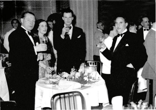 Emma Digard avec son compagnon, Emmanuel Martinez, en 1931.