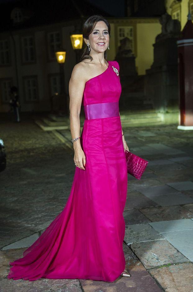 La princesse Mary de Danemark à Fredensborg, le 26 septembre 2017