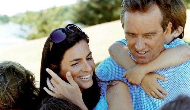 Mary et Robert F. Kennedy Jr-