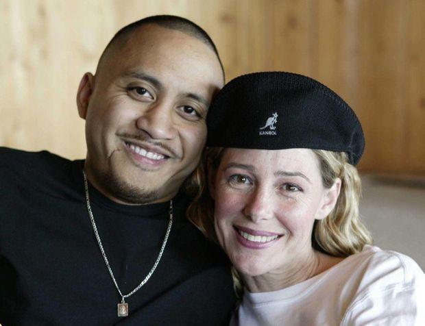 Mary Kay Letourneau et Vili Fualaau en avril 2005, un mois avant leur mariage.