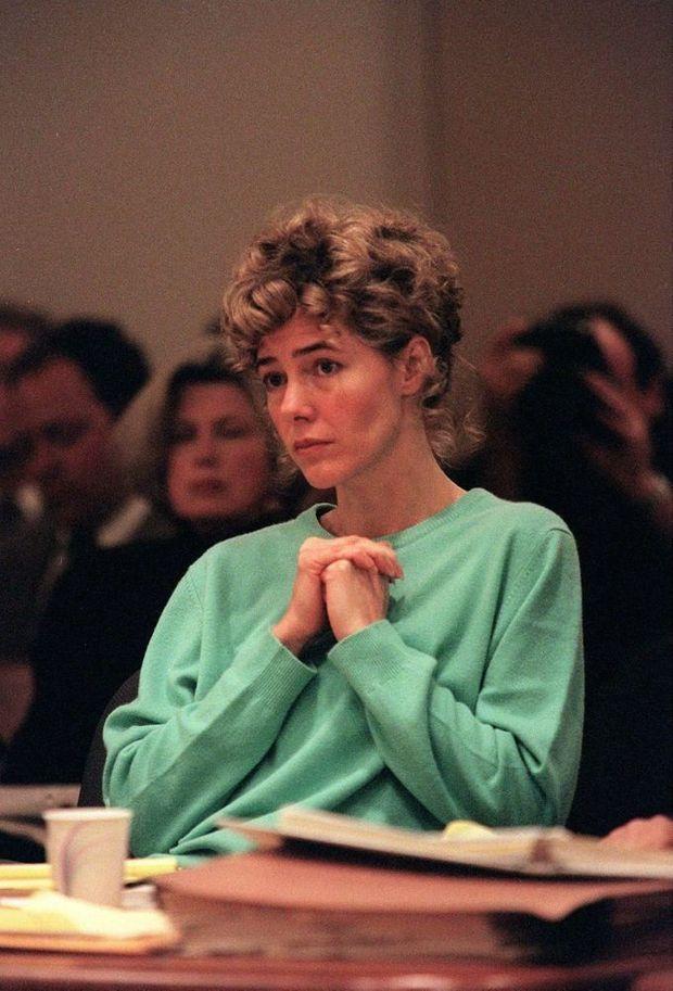 Mary Kay Letourneau lors de son premier procès en 1997.