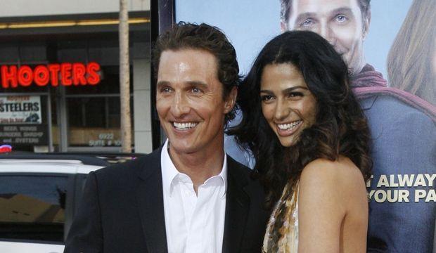 Matthew McConaughay et Camilla Alves-