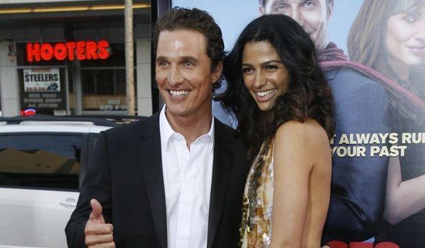Matthew McConaughey et Camilia Alves-
