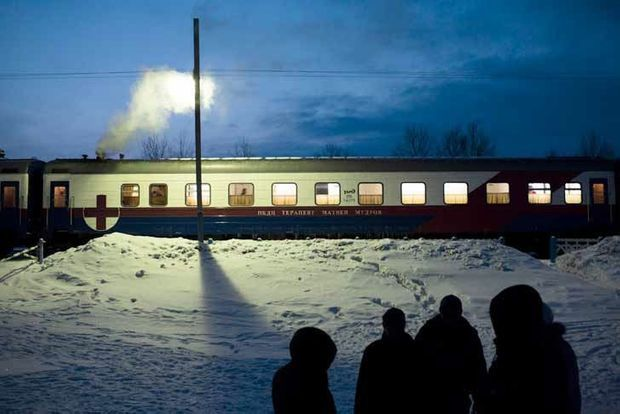Le Matvei Mudrov, le train des oubliés