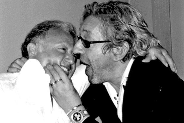 Maurice Renoma avec Serge Gainsbourg