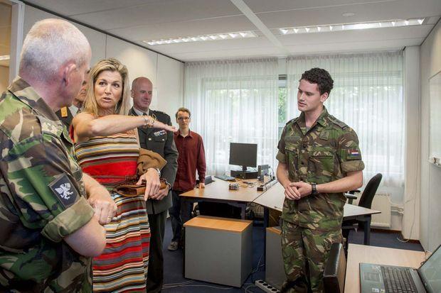 La reine Maxima des Pays-Bas à La Haye, le 15 juin 2017