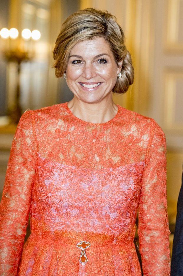La reine Maxima des Pays-Bas à La Haye, le 11 mai 2017