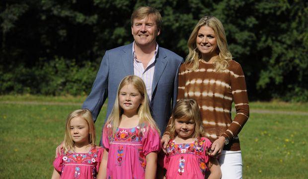 Maxima Willem-Alexander petite famille (3)-