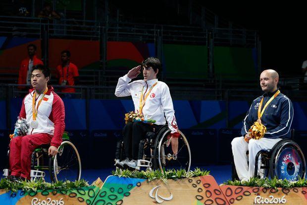 Maxime Thomas a décroché le bronze en tennis de table
