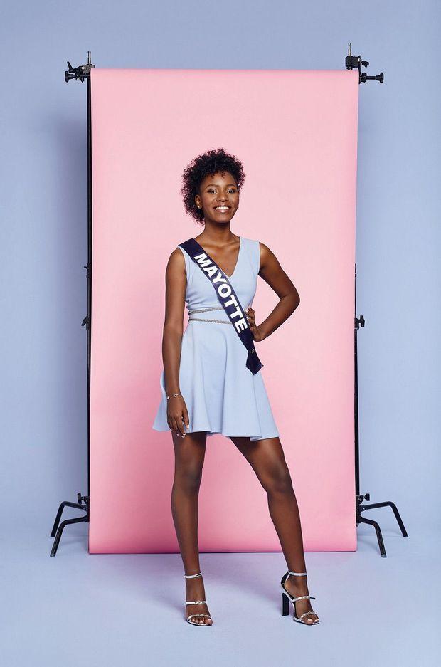 Ousna Attoumani, Miss Mayotte 2018