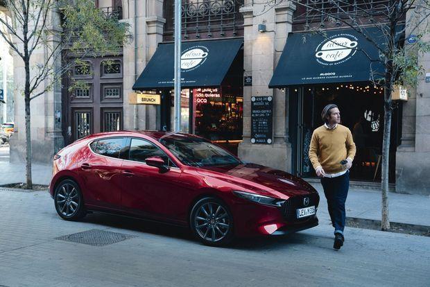 Sublime, la Mazda 3 incarne le style Kodo, synonyme d'esthétisme à la japonaise.
