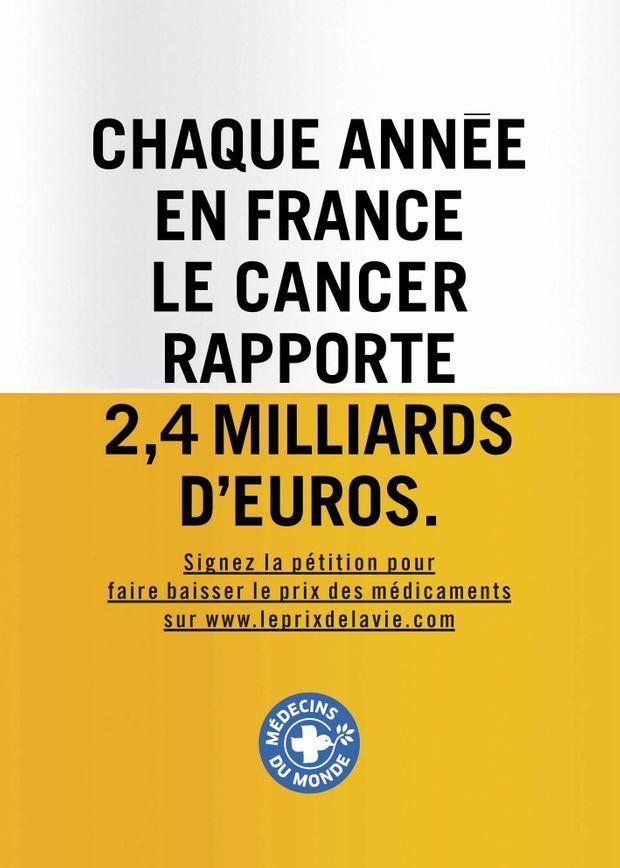 """Campagne """"Le prix de la vie"""""""