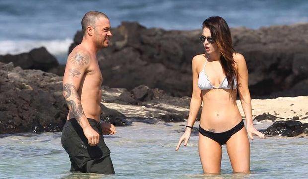 Megan Fox et Brian Austin Green à Hawaï-