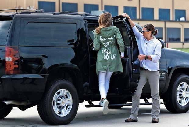 Petite par le prix (39 dollars) et grande par la polémique : sa veste Zara.
