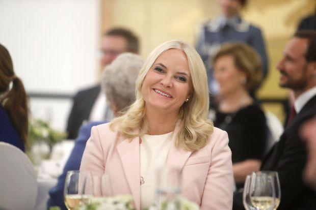 La princesse Mette-Marit de Norvège à Oslo, le 22 mars 2017