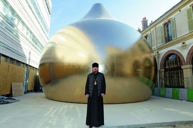 Mgr Nestor, 41 ans, évêque du diocèse de Chersonèse
