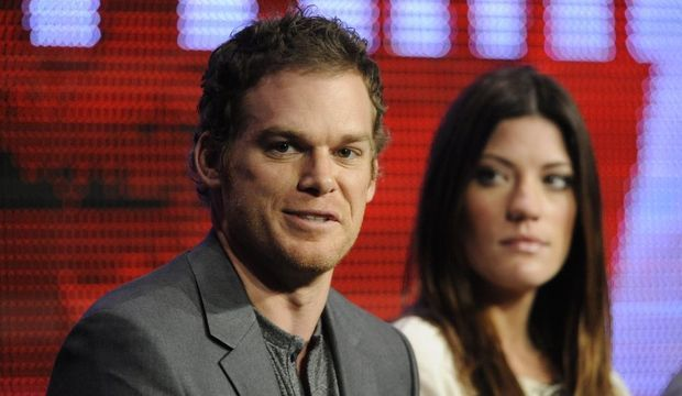 Michael C. Hall et Jennifer Carpenter -