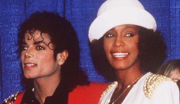 Michael Jackson et Whitney Houston-