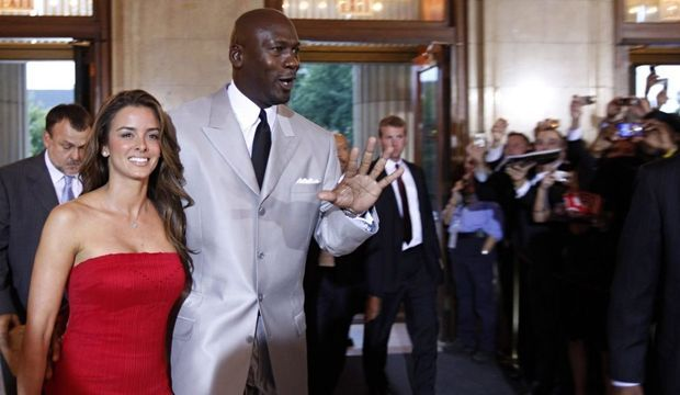 Michael Jordan et sa fiancée Yvette Prieto-