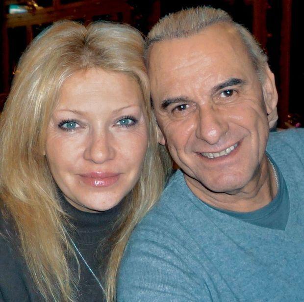 Michel et Sanda en Corse à l'été 2006.