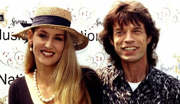 Mick Jagger Jerry Hall-