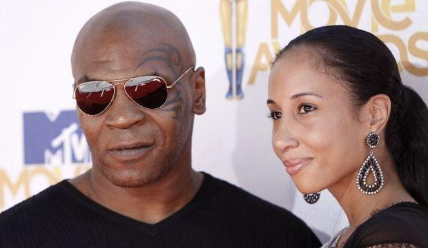 Mike Tyson et sa femme-
