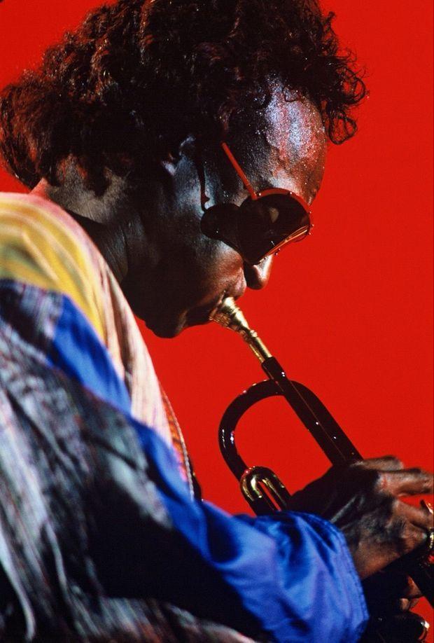 Miles Davis en juillet 1988.