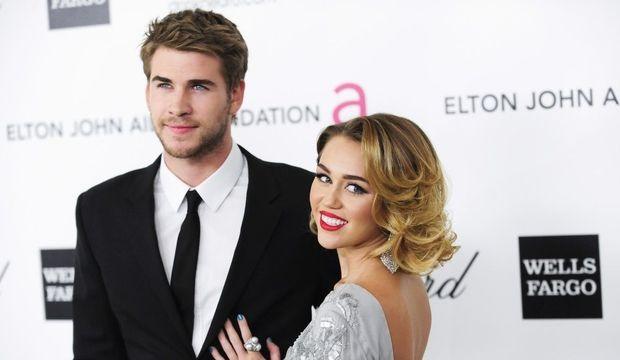 Miley Cyrue Liam Hemsworth-
