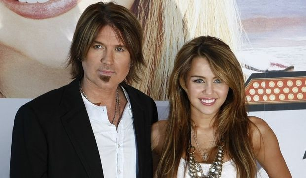 Miley Cyrus, Billy Ray Cyrus-