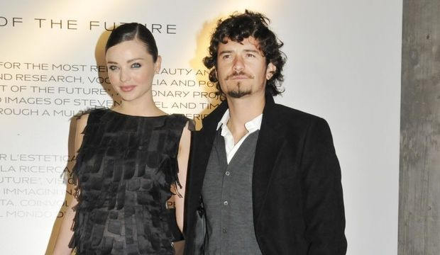 Miranda Kerr et Orlando Bloom-