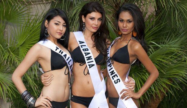 miss thailande, albanie et philippines 2010-