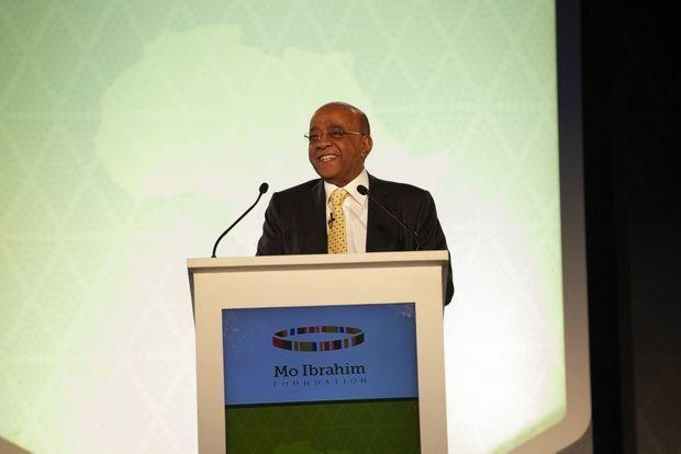 Ingénieur, entrepreneur, l'homme d'affaires multicarte, Mo Ibrahim cultive un sens de l'humour très british et une passion pour les réformateurs
