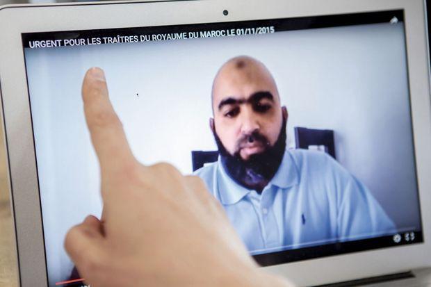 Mohammed El-Bouami Alaoui, président de l'association salafiste La Sagesse,
