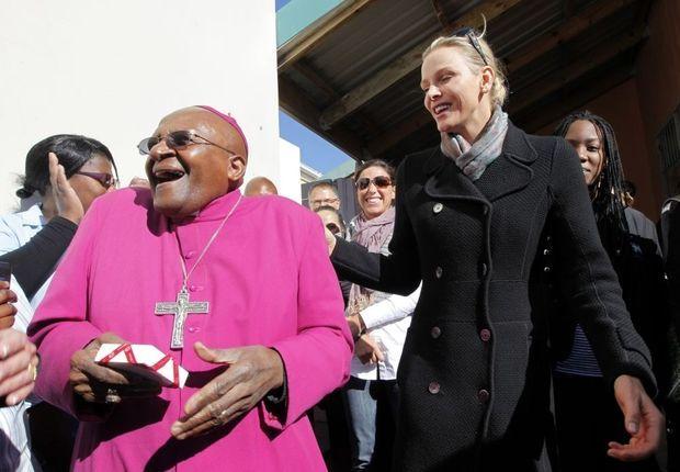 monaco charlene desmond tutu afrique sud-