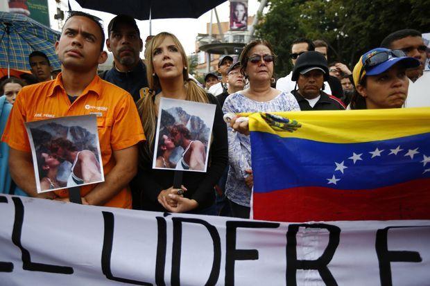 Le 8 janvier dernier, deux jours après la mort de Monica Spear et de son ex-compagnon, une manifestation avait eu lieu à Caracas.