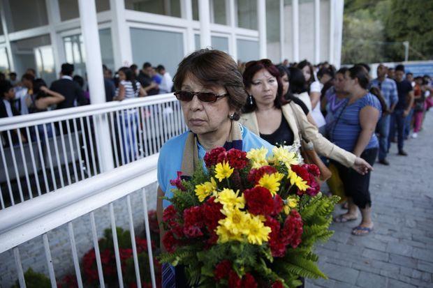 A Caracas, nombreux avaient été ceux qui ont rendu hommage à Monica Spear.
