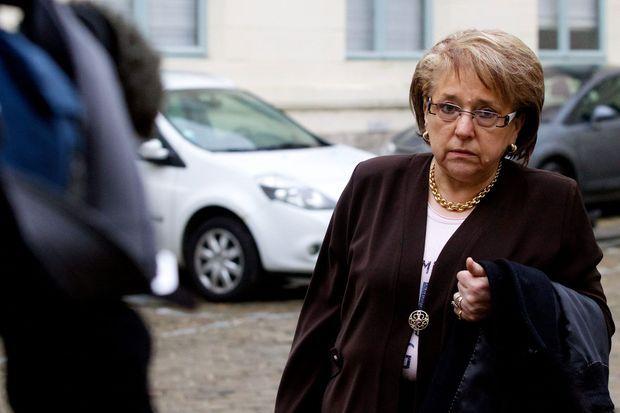 Monique Bouquignaud en mars dernier.