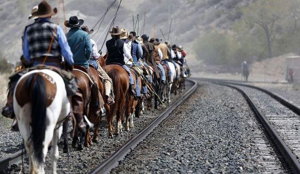 Montana Ranch chevaux cow boys-