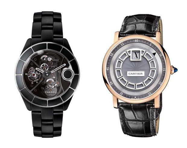 Montres Chanel Horlogerie et Cartier